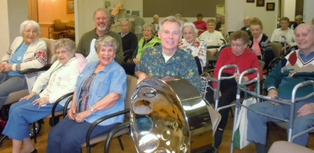 Atlanta seniors retirement-home-musical-event-entertainment